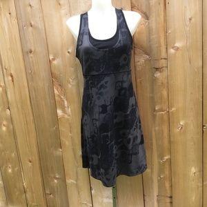 Mountain Hardware black nambia printed dress sz: M